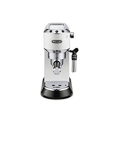 DeLonghi America, Inc EC685W Dedica Deluxe espresso, White by DeLonghi America, Inc