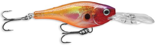 Rapala Glass Shad Rap 04 Fishing lure, 1.5-Inch, Glass Purple Sunfire