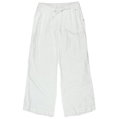Inc International Concepts White Wide-Leg Linen Pants