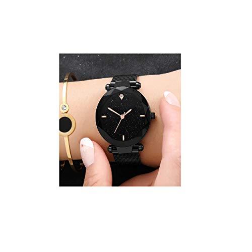 Rishtey Analogue Women's Watch (Black Dial)