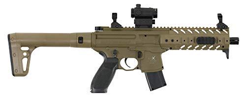 Sig Sauer MPX .177 Cal CO2 Powered Air Rifle (30 Rounds), Flat Dark Earth