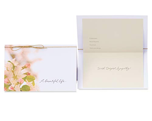 American Greetings Premium Sympathy Greeting Card Collection, 8-Count Photo #6