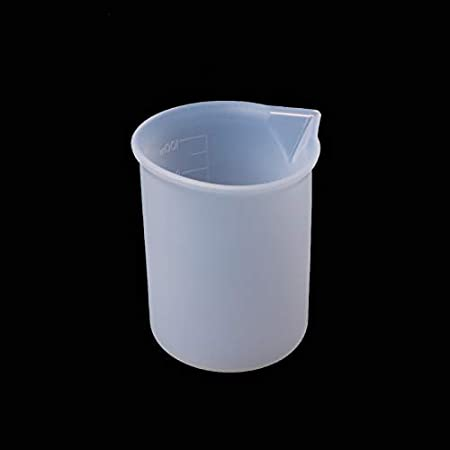 Silicone Measuring Cup Resin Glue DIY Tool Jewelry Make Hot J5R8