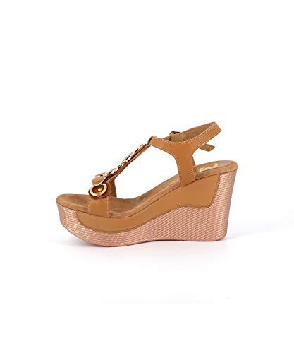 Cassis color Cote in Sandalo cammello D'azur pelle AaTqAxr0