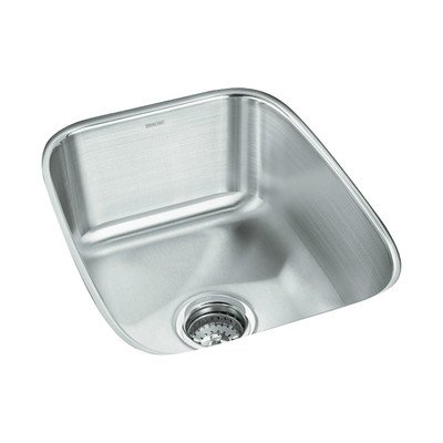 STERLING 11449-NA Springdale 16-inch by 20-1/4-inch Under-mount Single Bowl Bar Sink, Stainless (Undermount Group Stainless Steel Sink)