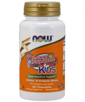 BerryDophilus Kids Now Foods 120 (Kids 120 Chewable)