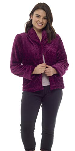 Bed Jacket (X-Large – 20/22, Berry)