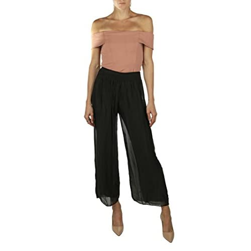 6015ee9fb KOTORE Lola Nicole Wide Leg Pants - Made in Italy chic - frozenkids.nl