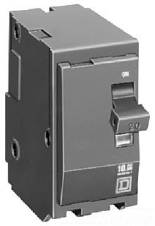 Circuit Breaker, 125A, 2P, 10Ka, 120/240Vac by Square D