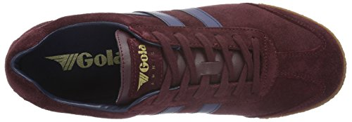 Gola Herren Harrier Fashion Sneaker Burgund / Navy