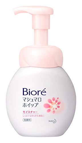 BIORE Kao Foaming Face Wash, Marshmallow Whip, 5.07 Fluid Ounce