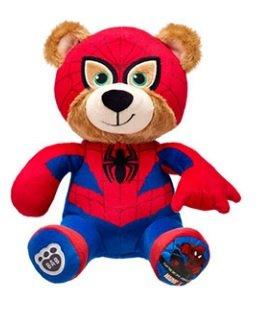 Build-A-Bear Marvel Mega Minis Spider-Man Stuffed Plush Bear by Build-A-Bear