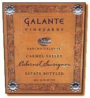 2011 Galante Vineyards Rancho Galante Cabernet Sauvignon 750 mL