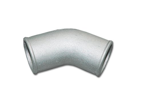 45 Degree Bend Aluminum Pipe - CXRacing 2.5 Inch Cast Aluminum 45 Degree Elbow Pipe For Turbo Downpipe