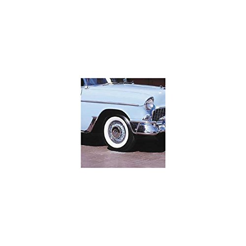 """Eckler's Premier Quality Products 57131267 Chevy Tire 6.70 x 15 B.F. Goodrich Silvertown With 21/2"""" Whitewall"""