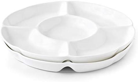 Serving Porcelain Divided Platter Perfect product image