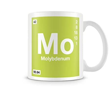 Periodic table of elements 42 mo molybdenum symbol mug amazon periodic table of elements 42 mo molybdenum symbol mug urtaz Gallery