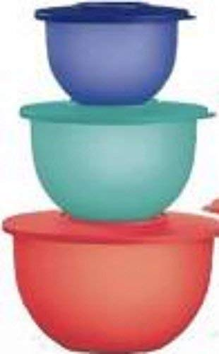 Tupperware Impressions Bowl Containers Nesting Set Storage -  kberly Tupperware