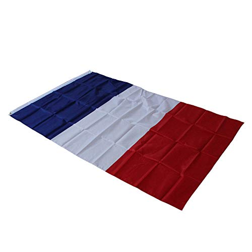 Springdoit Premium Quality Polyester 3x5 Foot France French National Flag Indoor & Outdoor Sports Accessories 1 Pcs