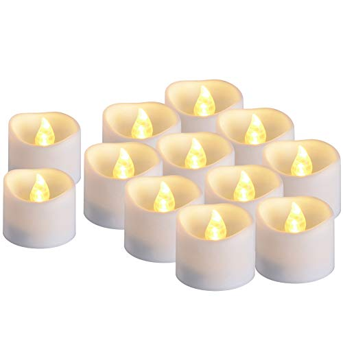 Timer Candles, PChero Battery Operated LED Decorative Flameless