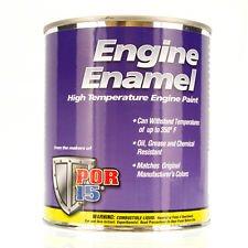 POR-15 42198 Hi Po Yellow Engine Enamel - 1 pint (Enamel Hi)