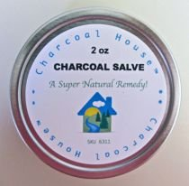 Charcoal Salve: Coconut Activated Charcoal Herbal Salve