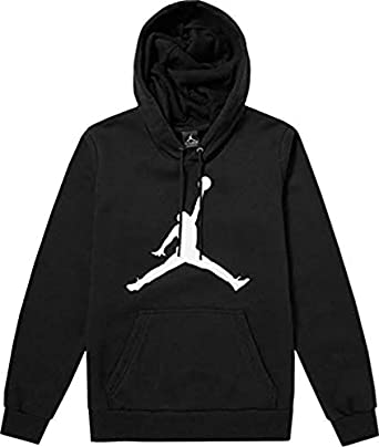 24831a93303 Ajmeri Creation Men's Cotton Full Sleeves Jordan Hoodies (Large) Black
