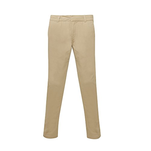 Asquith & Fox Womens/Ladies Casual Chino pantalones caqui