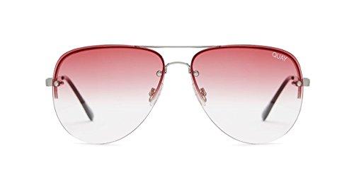 Quay Australia MUSE FADE Women's Sunglasses Jasmine Aviator - 6pm Sunglasses