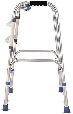 Rpzzy Bastón de cuatro patas Caminador plegable Espesar Muleta en ...