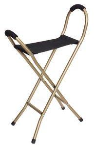 Cane Folding Seat 4 leg - Essential Medical W1451