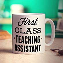 DOPHOME You Will Forever and Always Be My Best First Class Teaching Assistant Mug