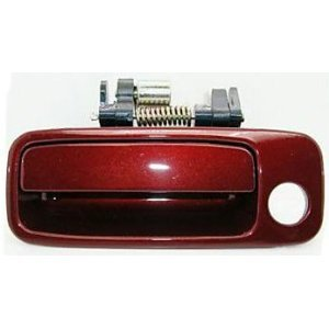(B469 Motorking 69220AA010C0 97-01 Toyota Camry Burgandy 3N6 Replacement Driver Side Outside Door Handle 97 98 99 00 01)