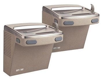 Oasis PGACSL VersaCooler II Bi-Level Universal Non-Refrigerated Drinking Fountain, ADA, Sandstone
