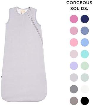 Kyte BABY Sac de couchage pour tout-petits 0-36 mois 1.0 Tog en mat/ériau souple Rayon de bambou gris graphite 0-6 mois