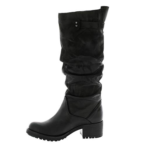 Stivali nero Pao di in pelle nabuk aqwOxHaUr