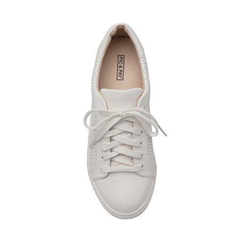 Pic / Pay Ollyn | Donna In Pelle Traforata Traforata O In Pelle Scamosciata Comoda Moda Sneaker (nuova Primavera) In Pelle Bianca