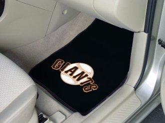 MLB - San Francisco Giants 2 Piece Front Car Mats ()