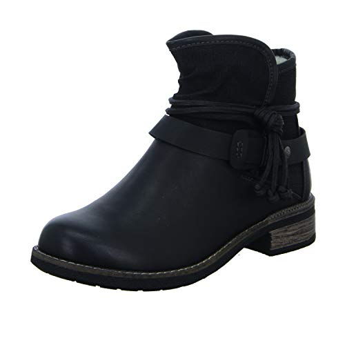 Rieker Eaton Womens Casual Ankle Boots Black