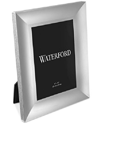 Waterford Metal Lismore Diamond Gold 8X10 Frame