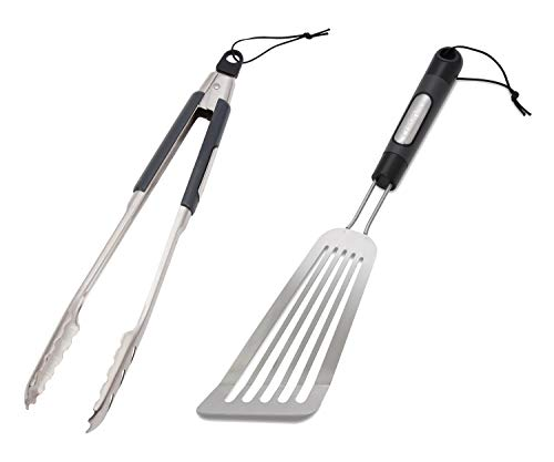 Cuisinart Grill Locking Tongs Bundle Stainless Steel BBQ Fish - Cuisinart Fish