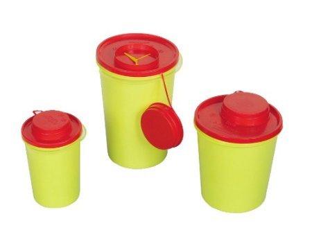 Med-comfort Kanülenabwurfbehälter - 0,6 Liter - durchstichsicher 10Stück