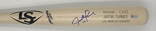 Justin Turner Autographed Game Model Louisville Slugger - Justin Model