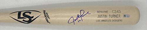 Justin Turner Autographed Game Model Louisville Slugger - Model Justin