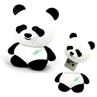 D-CLICK TM High Quality 4GB/8GB/16GB/32GB/64GB/Cool Shape USB High speed Flash Memory Stick Pen Drive Disk (64GB, Panda)