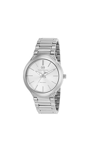 Technomarine Women's 'MoonSun' Quartz Stainless Steel Casual Watch, Color:Silver-Toned (Model: TM-117035)
