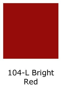 One Shot Lettering Enamel - 1-Shot 104-L Bright Red 8 Oz