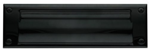 Baldwin 0017.102 Hinged Magazine Size Letter Box Plate, Oil Rubbed Bronze by Baldwin