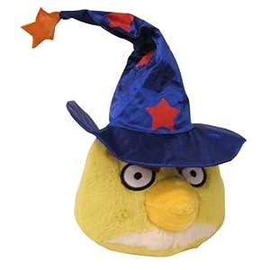 Angry Birds Halloween 5-Inch Plush Yellow Bird with Wizard Hat - 31jsx8lCnoL - Angry Birds Halloween 5-Inch Plush Yellow Bird with Wizard Hat