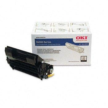 Oki® 52116001, 52116002 Toner Cartridge TONER,CART,F/B6500,BK 18Y0372 (Pack of 2)